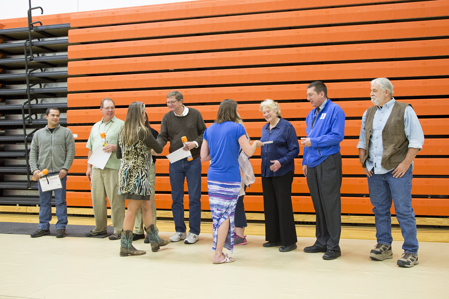 Faculty recognized for their help in the tutoring center.
