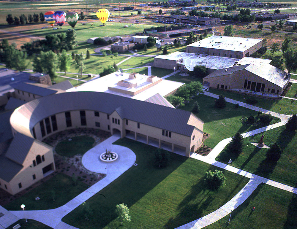 Arial View of Central Wyoming College main campus